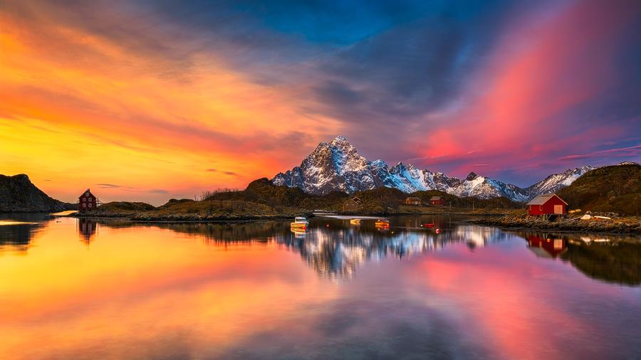 Olsneset sunrise